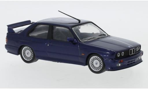 Bmw M3 1/43 IXO Sport Evolution (E30) metallise bleue 1990 miniature