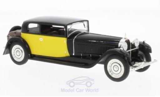 Bugatti 41 1/43 IXO Royale Coach (Weymann) noire/jaune 1929 miniature