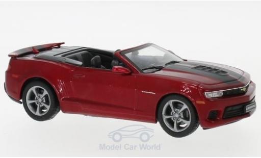 Chevrolet Camaro 1/43 IXO Convertible metallise red 2014 diecast model cars