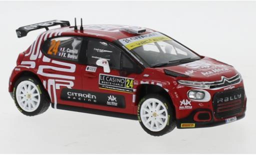 Citroen C3 1/43 IXO Rally 2 No.24 Rally Monte Carlo 2021 E.Camilli/F-X.Buresi miniature