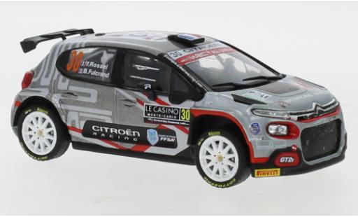 Citroen C3 1/43 IXO Rally 2 No.30 Rally Monte Carlo 2021 Y.Rossel/B.Fulcrand miniature