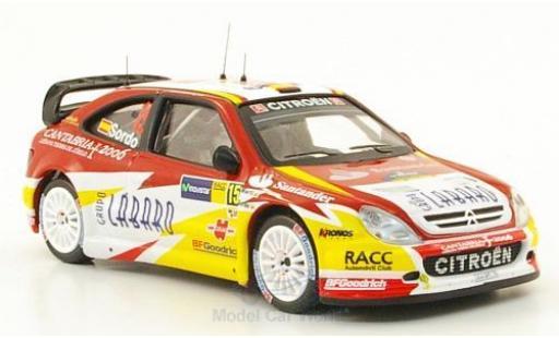 Citroen Xsara 1/43 IXO WRC No.15 Rallye Catalunya 2006 D.Sordo/M.Marti miniature