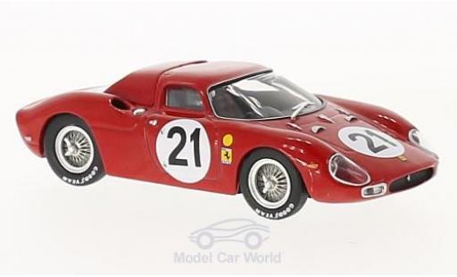 Ferrari 250 LM 1/43 IXO RHD No.21 24h Le Mans 1965 M.Gregory/J.Rindt coche miniatura