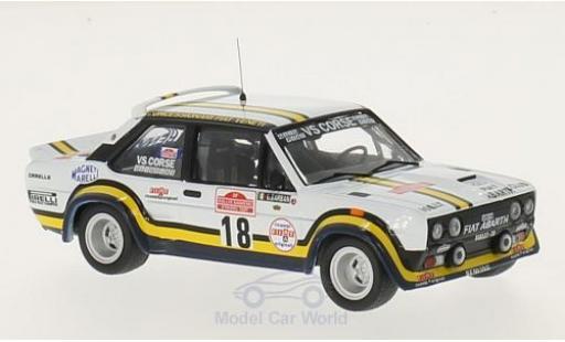 Fiat 131 1/43 IXO Abarth No.18 VS Corse Rallye WM Rallye Sanremo 1978 A.Pasetti/G.Barban diecast