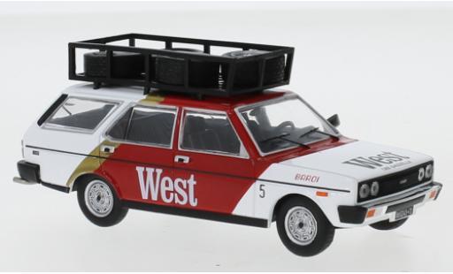 Fiat 131 1/43 IXO Panorama West 1979 Assistance miniature