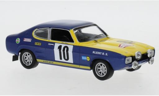Ford Capri 1/43 IXO No.10 Rallye EM Rajd Polski 1972 W.Röhrl/J.Berger