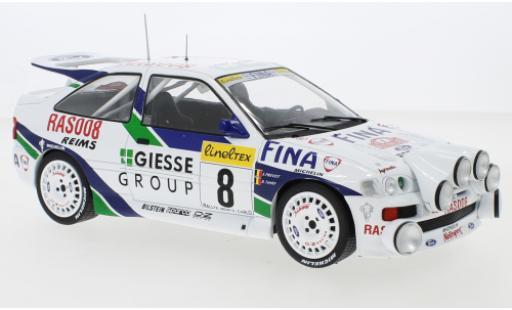 Ford Escort 1/18 IXO RS Cosworth No.8 Giesse Group Rallye WM Rallye Monte Carlo 1995 B.Thiry/S.Prevot miniature