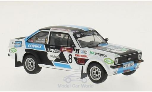 Ford Escort MKI 1/43 IXO RS I No.8 Boucles de Spa 2014 P.Snijers/E.Eggermont miniature