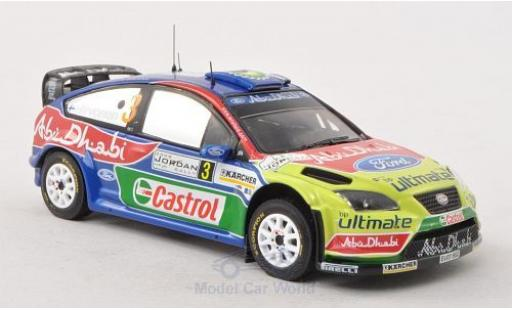 Ford Focus RS 1/43 IXO 07 No.3 WRC Rally Jordanien 2008 M.Hirvonen/J.Lehtinen miniature