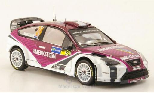 Ford Focus RS 1/43 IXO 07 WRC No.24 WRC Rallye Spanien 2008 miniature