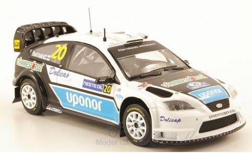 Ford Focus 1/43 IXO WRC No.20 Uponor WRC Rally Finnland 2008 diecast