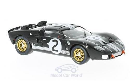Ford GT 40 1/43 IXO 40 MK II No.2 24h Le Mans 1966 C.Amon/B.McLaren miniature