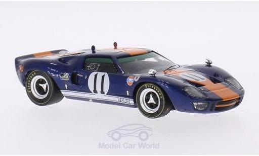 Ford GT 40 1/43 IXO 40 RHD No.11 24h Daytona 1967 J.Ickx/D.Thompson miniature