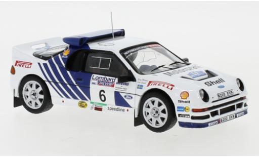 Ford RS 200 1/43 IXO RS200 No.6 Rallye WM RAC Rally 1986 K.Grundel/B.Melander