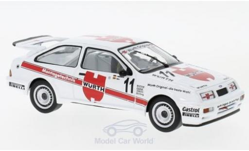 Ford Sierra Cosworth 1/43 IXO RS No.11 Würth WTCC Brünn 1987 J.Winkelhock/F.Biela diecast model cars