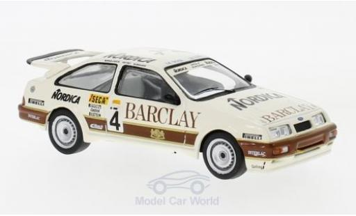 Ford Sierra Cosworth 1/43 IXO  Cosworth No.4 Wolf Racing Barclay WTCC 24h Spa 1987 J.Winkelhock/D.Artzet/M.Burkhard miniature
