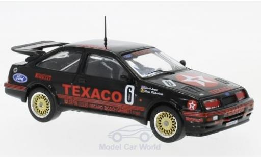 Ford Sierra Cosworth 1/43 IXO RS No.6 Eggenberger Motorsport Texaco WTCC Dijon 1987 S.Soper/K.Niedzwiedz diecast model cars