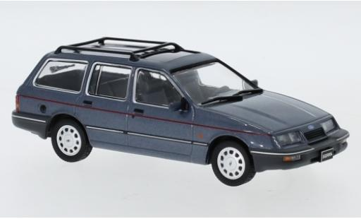 Ford Sierra 1/43 IXO Turnier Ghia metallise grise 1988 miniature