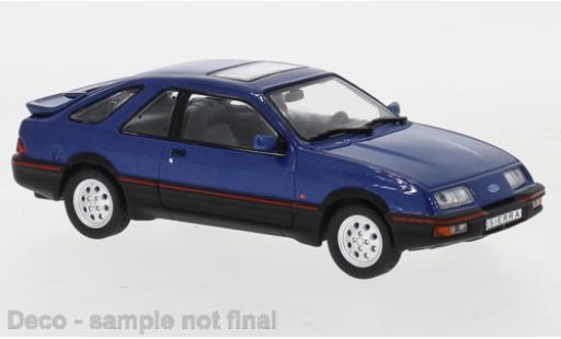 Ford Sierra 1/43 IXO XR 4 metallise bleue 1984 miniature
