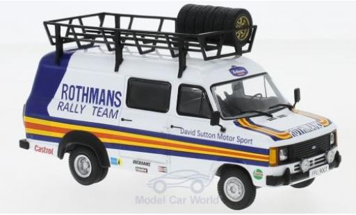 Ford Transit 1/43 IXO MKII David Sutton Motorsport Rothmans 1980 Rally Assistance miniature
