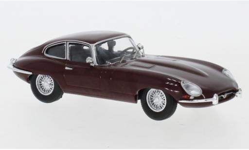 Jaguar E-Type 1/43 IXO red 1963 diecast model cars