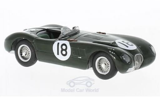 Jaguar XK 8 1/43 IXO 120C RHD No.1 24h Le Mans 1953 T.Bolt/D.Hamilton modellino in miniatura