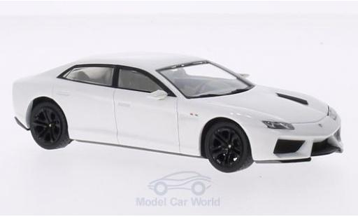 Lamborghini Estoque 1/43 IXO 200 metallise white 2008 diecast model cars