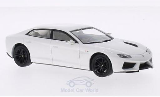 Lamborghini Estoque 1/43 IXO 200 metallic white 2008 diecast