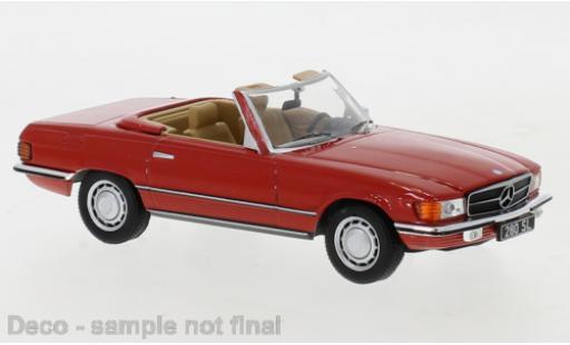 Mercedes 280 1/43 IXO SL (R107) rouge 1979 miniature