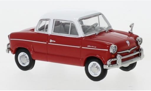 NSU Prinz 1/43 IXO 30E rouge/blanche 1959 miniature