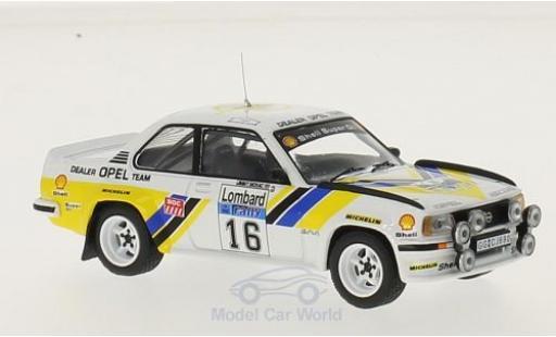Opel Ascona C 1/43 IXO 400 No.16 Dealer Team Rallye WM RAC Rallye 1981 J.McRae/I.Grindrod miniature