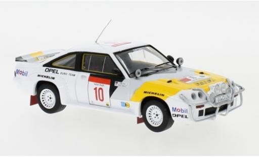 Opel Manta 1/43 IXO 400 No.10 Euro Team Rallye WM Safari Rallye 1984 R.Aaltonen/L.Drews miniature