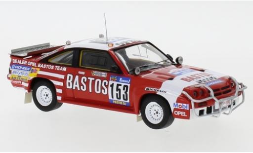 Opel Manta 1/43 IXO 400 No.153 Dealer Bastos Team Bastos Rallye Paris Dakar 1984 G.Colsoul/A.Lopes miniature
