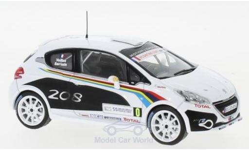 Peugeot 208 1/43 IXO R2 WRC WRC Tour de Corse 2012 S.Sarrazin/B.Veillas diecast