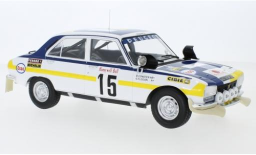 Peugeot 504 1/18 IXO Ti No.15 Rally Marokko 1975 B.Consten/G.Flocon miniature