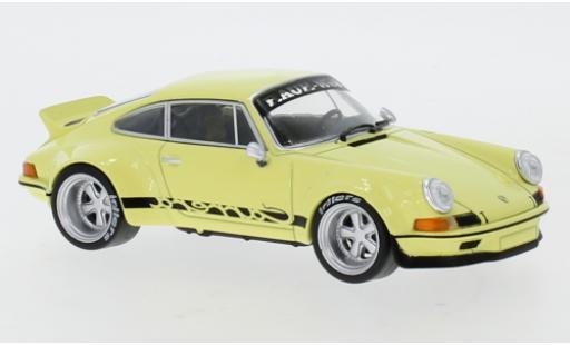 Porsche 911 1/43 IXO RWB jaune miniature