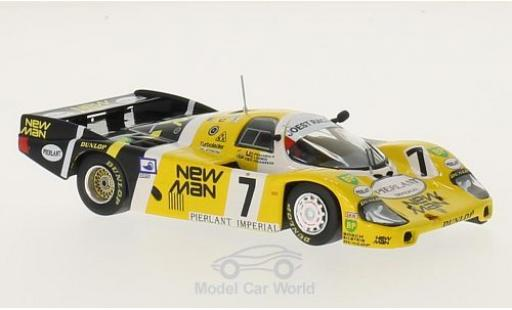 Porsche 956 1984 1/43 IXO B No.7 New Man 24h Le Mans K.Ludwig/H.Pescarolo/S.Johansson miniature