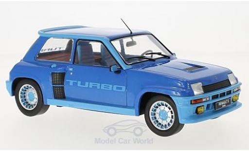 Renault 5 Turbo 1/18 IXO Turbo 1 metallic-azul 1981 miniatura