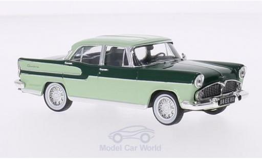 Simca Chambord 1/43 IXO dunkelgrün/hellgrün 1958 diecast