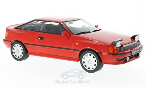 Toyota Celica 1/18 IXO ST165 rouge 1990 miniature