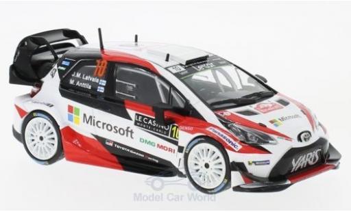 Toyota Yaris 1/43 IXO WRC No.10 Microsoft Rallye WM Rallye Monte Carlo 2017 J.M.Latvalla/M.Anttila miniature