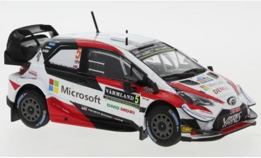 Toyota Yaris 1/43 IXO WRC No.5 Gazoo Racing Microsoft WRC Rally Schweden 2019 K.Meeke/S.Marshall diecast model cars