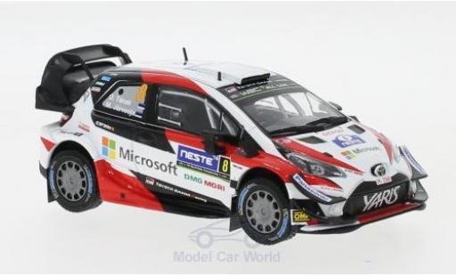 Toyota Yaris 1/43 IXO WRC No.8 Microsoft Rallye WM Rallye Finnland 2018 O.Tänak/M.Järveoja diecast model cars