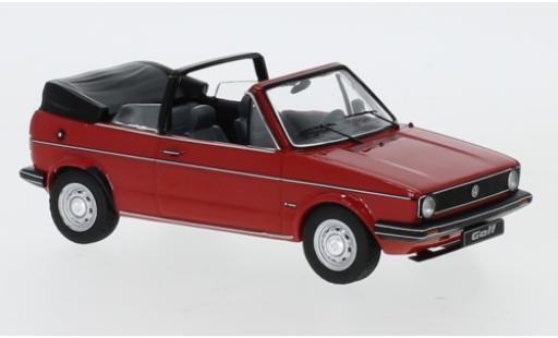 Volkswagen Golf 1/43 IXO I Cabriolet rosso 1981