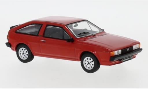 Volkswagen Scirocco 1/43 IXO II red 1987 diecast model cars