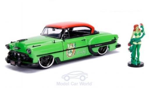 Chevrolet Bel Air 1/24 Jada Hardtop Poison Ivy 1953 mit Figur DC Comics Bombss miniature