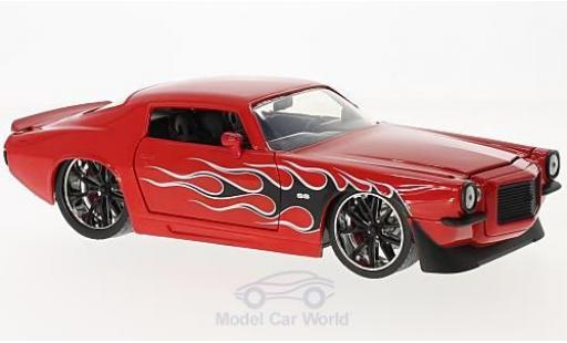 Chevrolet Camaro 1/24 Jada Toys red/Dekor 1971 diecast model cars