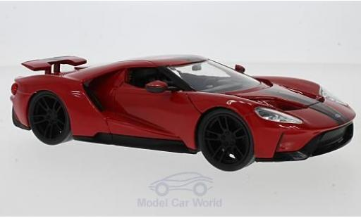 Ford GT 1/24 Jada Toys rouge 2017 miniature