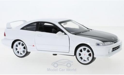 Honda Integra 1/24 Jada Toys Toys Toys Toys Type R blanche 1995 miniature