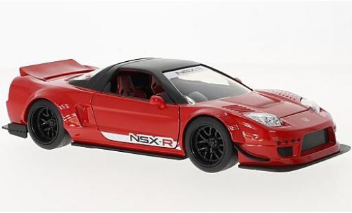 Honda NSX 1/24 Jada Toys Type-R rouge/noire RHD 2002 Japan Spec - Widebody miniature